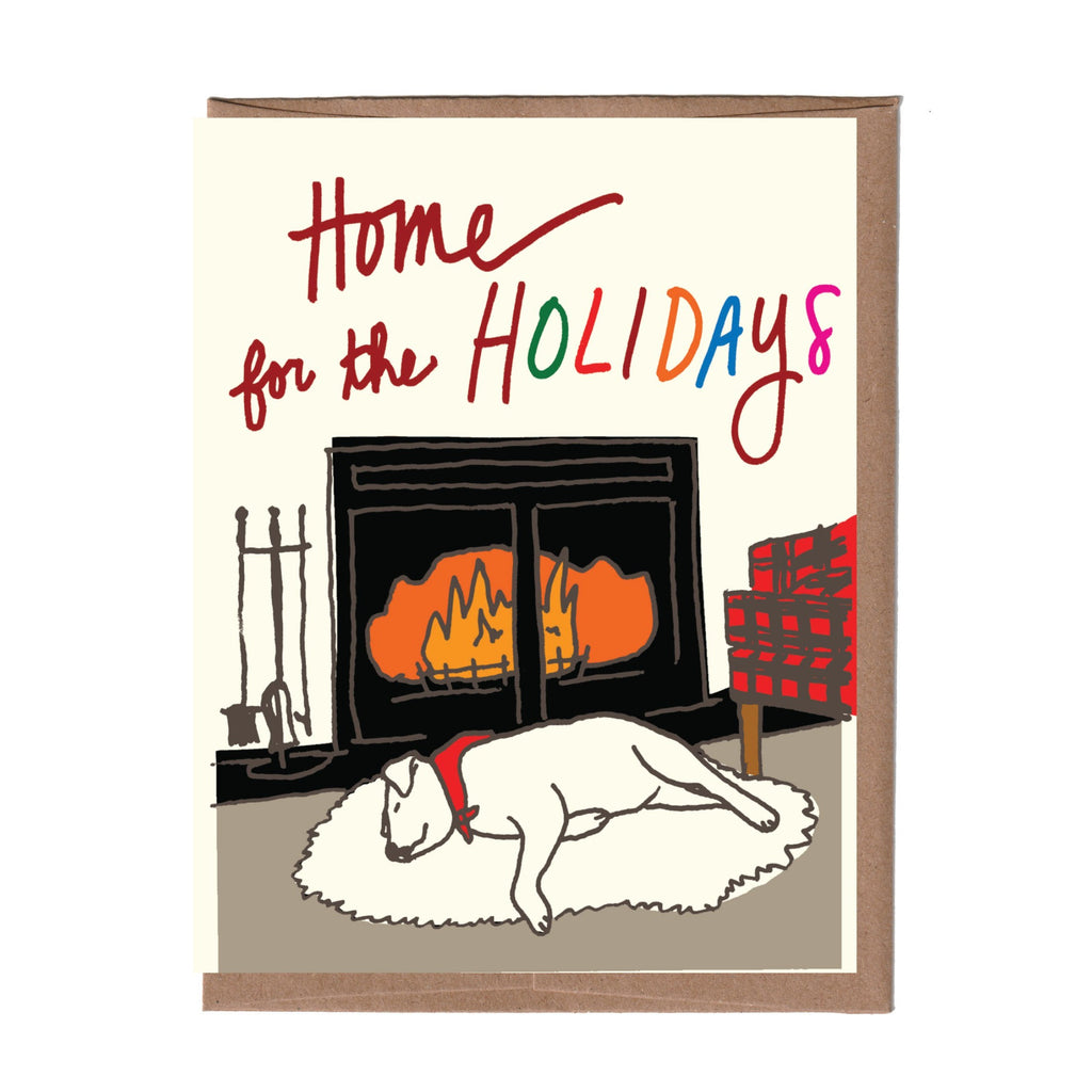 Stay Home Holiday Card