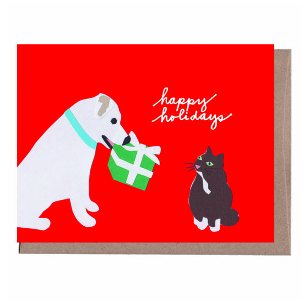 Friends Holiday Card