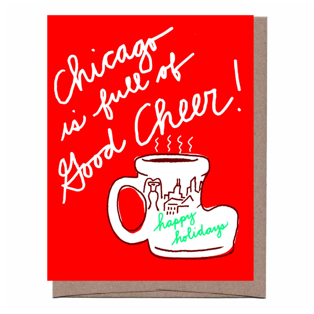Chicago Boot Holiday Card