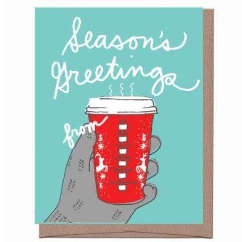 City Holiday Cup Card