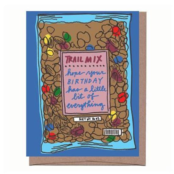 Trail Mix Birthday Card