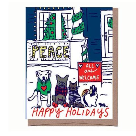 All Are Welcome Holiday Card
