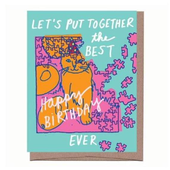 Birthday Puzzle Card