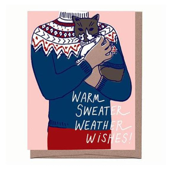 Sweater Weather Holiday Card