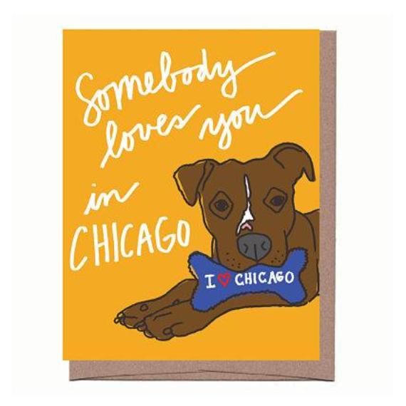 City Dog Souvenir Card