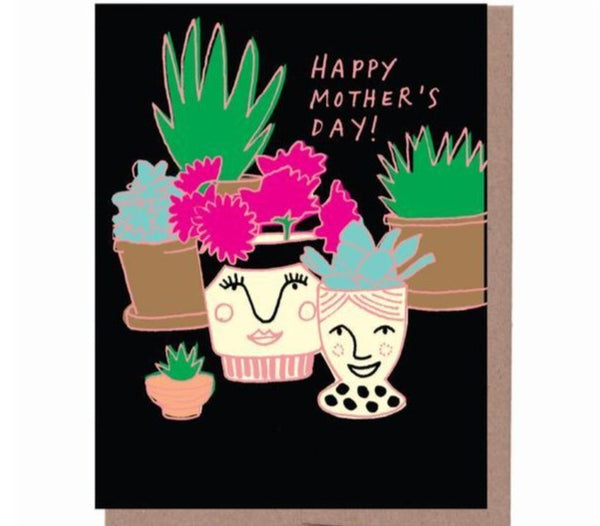 Mom Vase Mother's Day Card