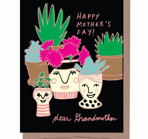 Grandma Vase Mother's Day Card