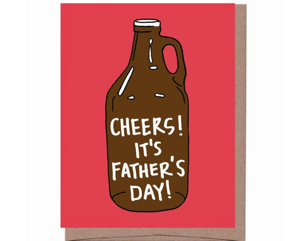 Growler Father's Day Card