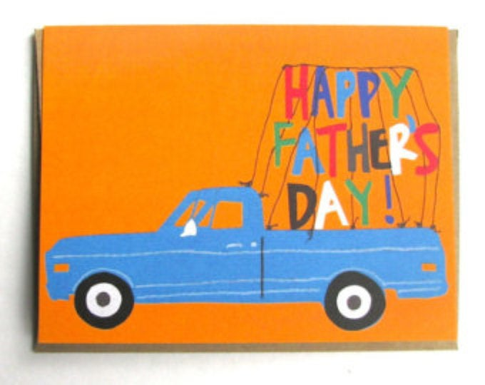 Pick-up Father's Day Card