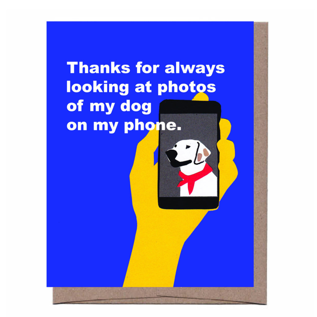Dog Photos Card