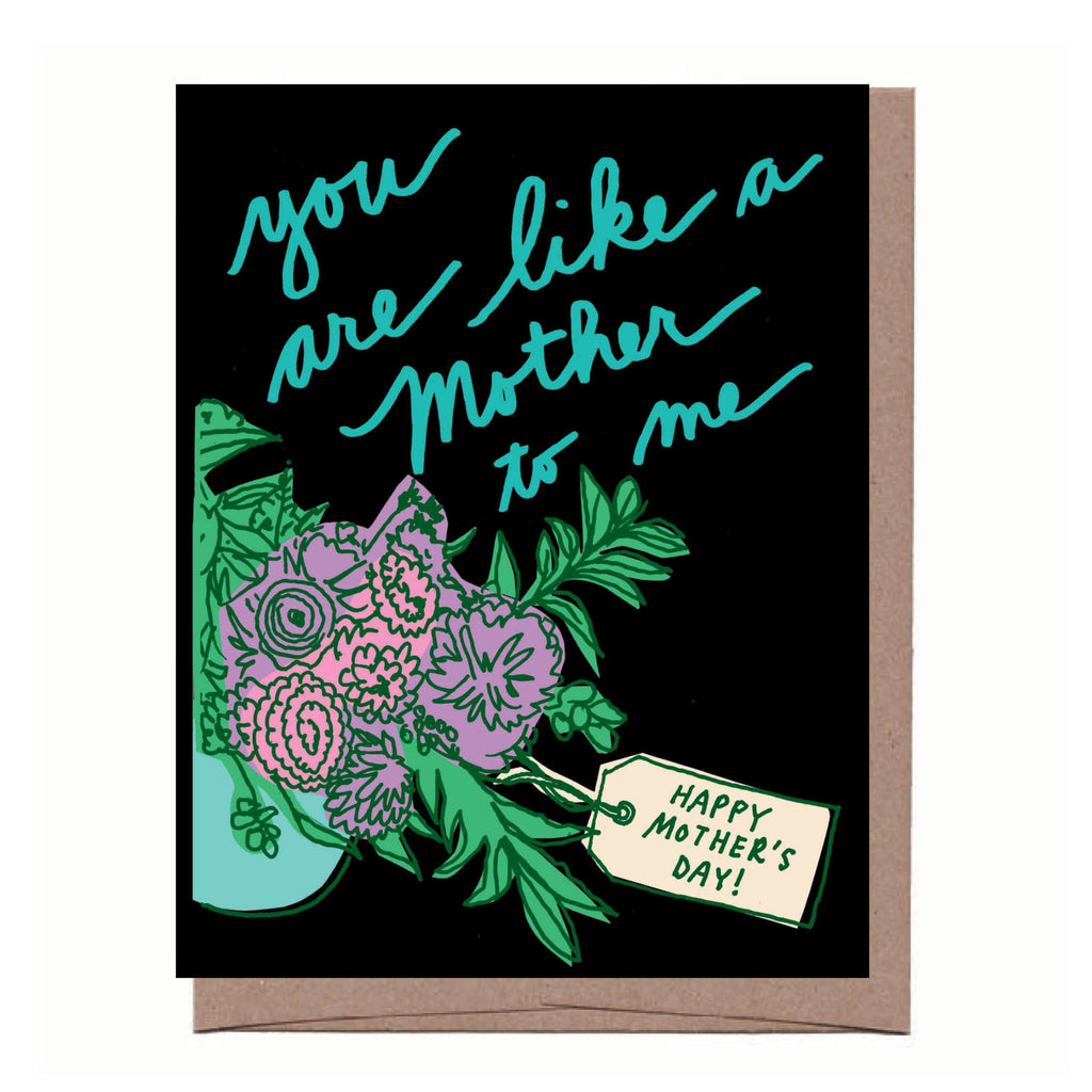 Like a Mom Mother's Day Card