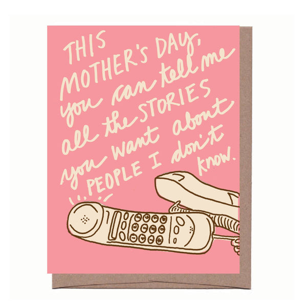 Mom Stories Mother's Day Card