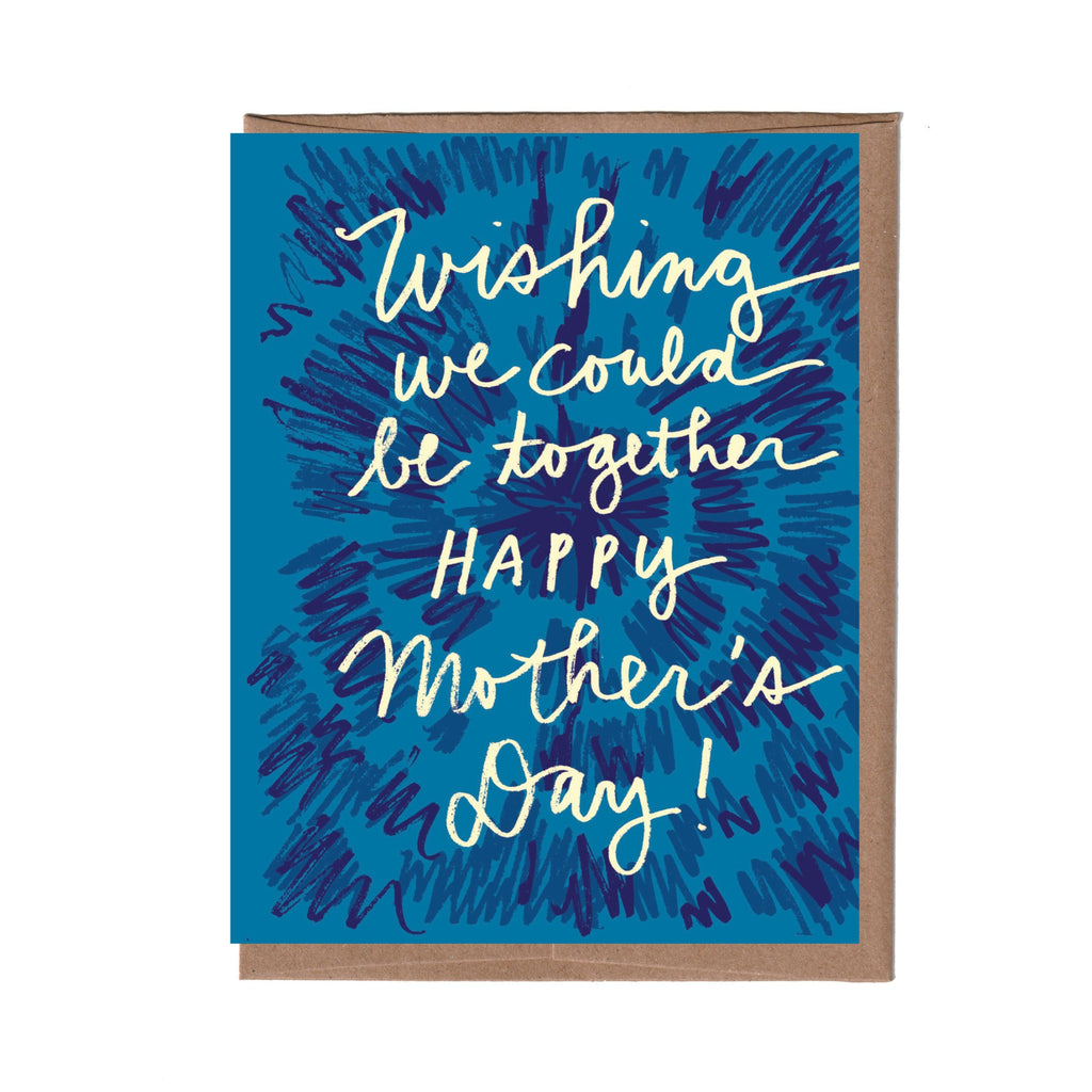 Tie Dye Mother's Day Card