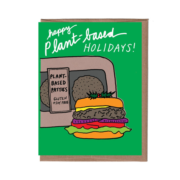 Plant-Based Holiday Card