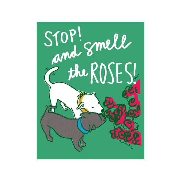 Smell the Roses Postcard 6pack