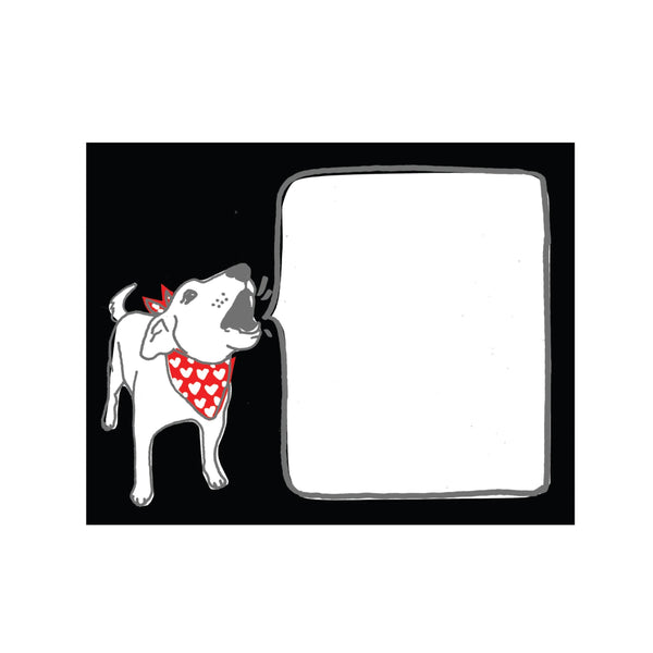 Barking Dog Postcard 6pack