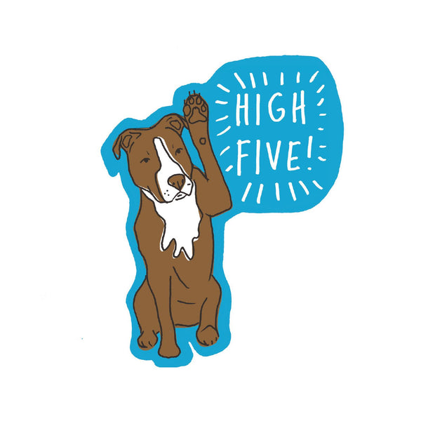 High Five Sticker