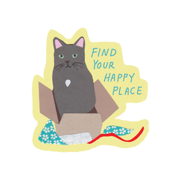 Happy Place Sticker