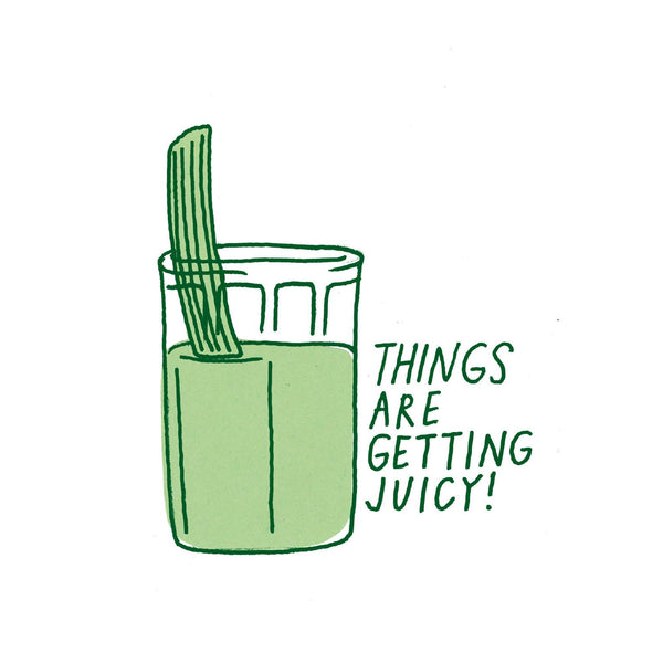 Celery Juice Sticker