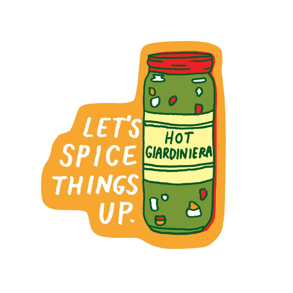 Giardiniera Sticker