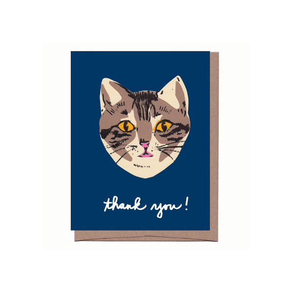 Cat Thank You Note