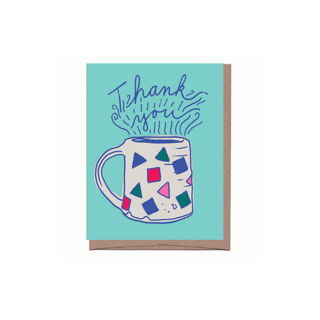 Mug Thank You Note