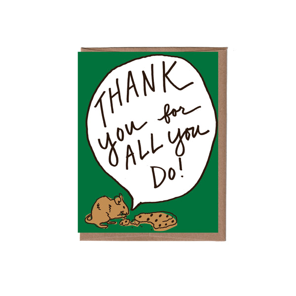 Mouse Thank You Note