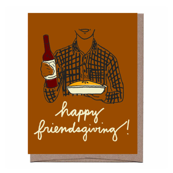 Friendsgiving Thanksgiving Card