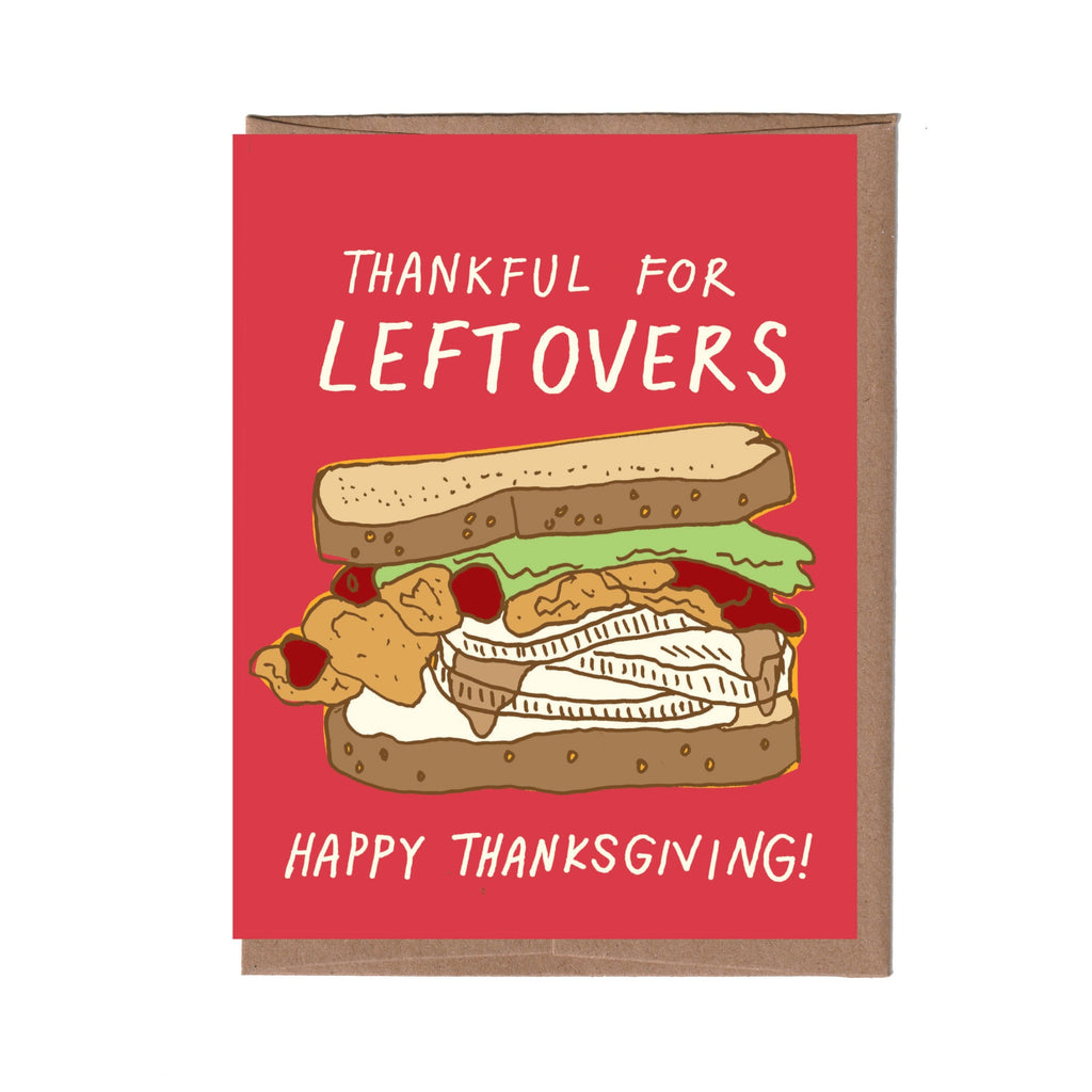 Leftovers Thanksgiving Card