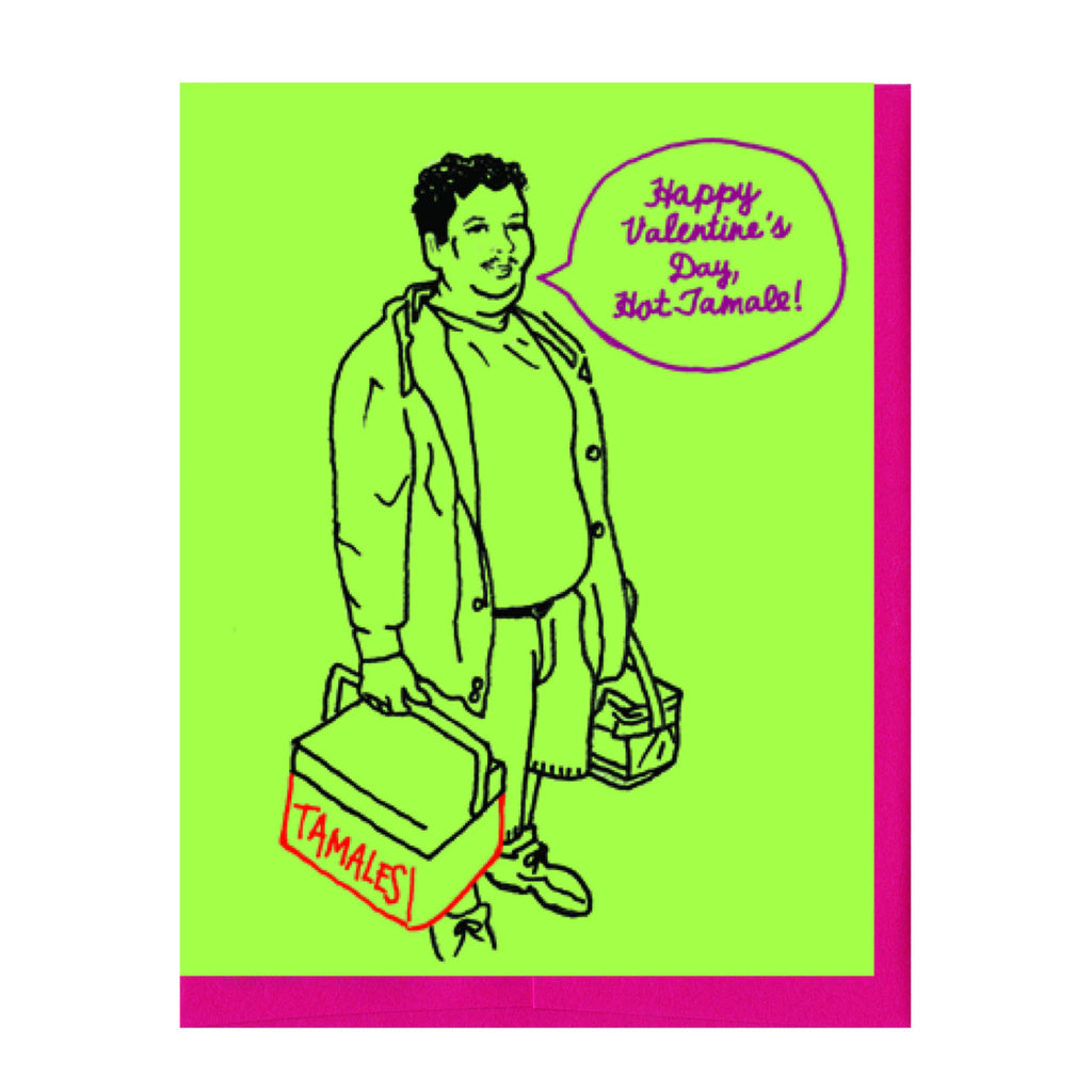 Tamale Guy Valentine's Card