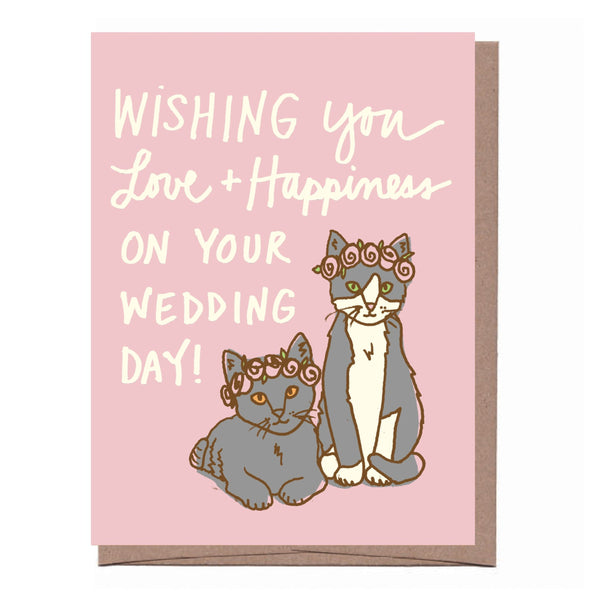 Wedding Kittens Card