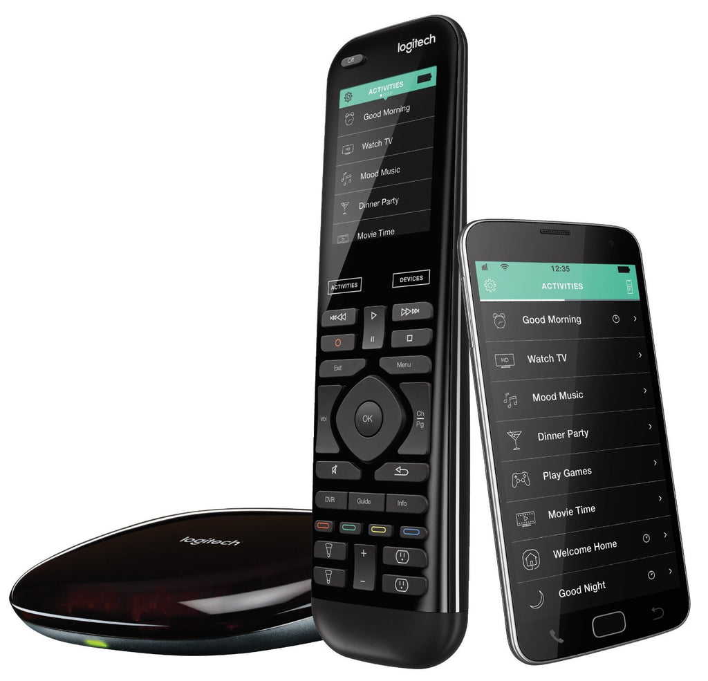 Logitech Harmony Smart Remote + Configuration