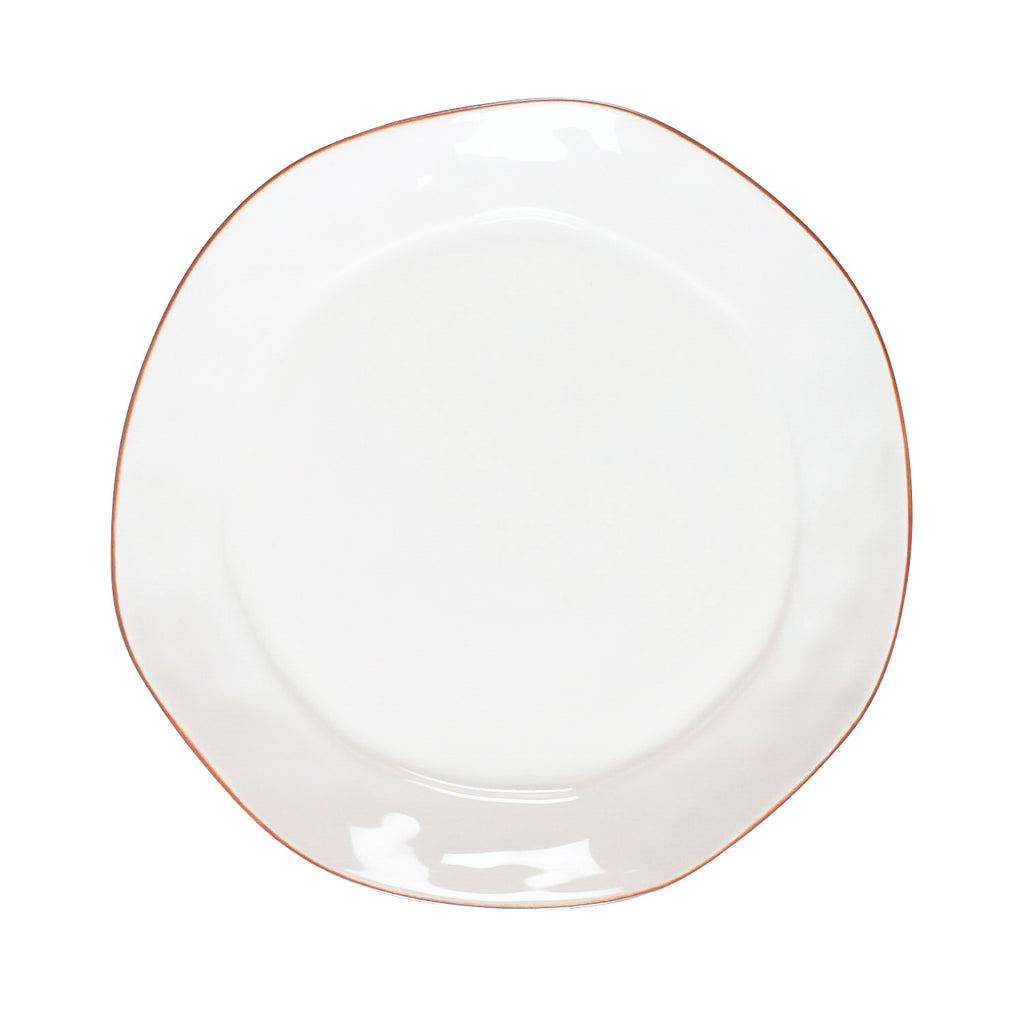 Cantaria White Dinner Plate