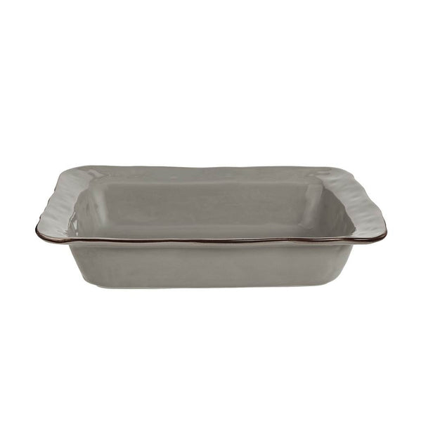 Cantaria Greige Medium Rectangular Baker