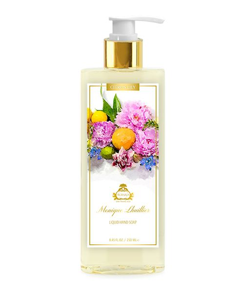 Lily Monique Lhuillier Citrus Lily Liquid Hand Soap