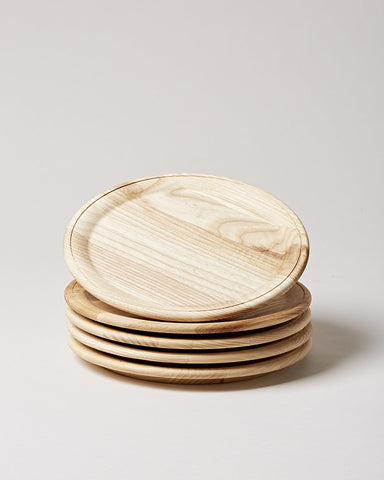 Crafted Wood Plate