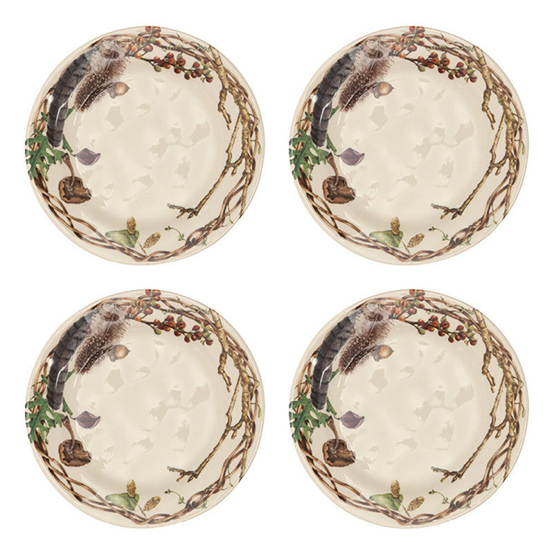 Forest Walk set of 4 Party Plates