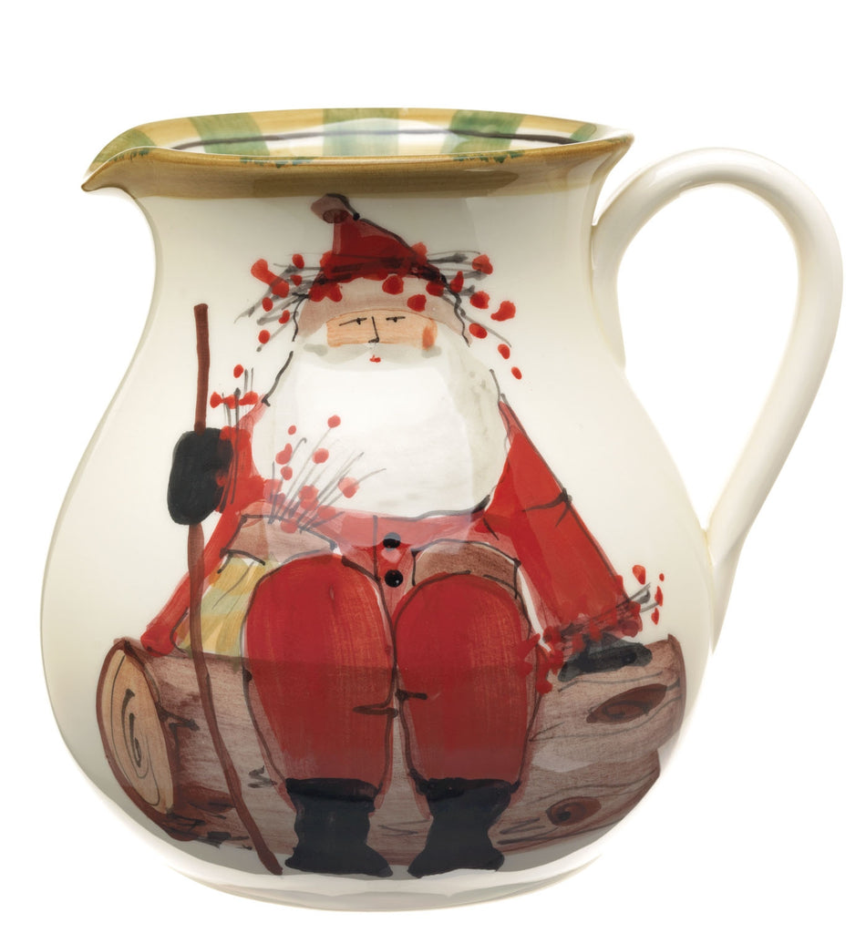 Old St. Nick Round Body Pitcher