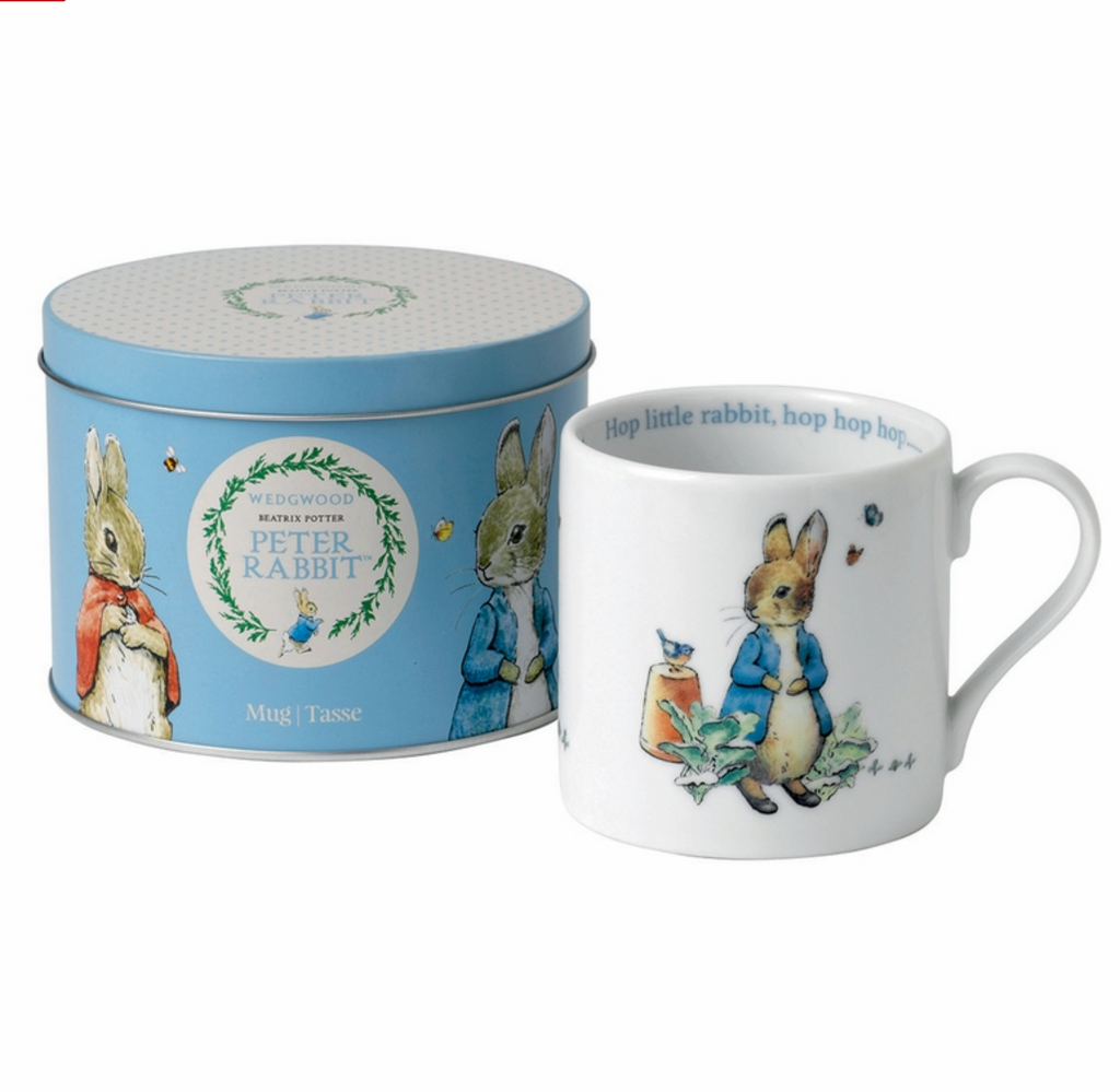 Wedgwood Blue Peter Rabbit Mug