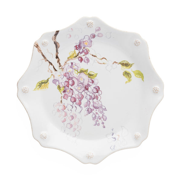 Berry & Thread Floral Sketch Wisteria Desert/Salad Plate