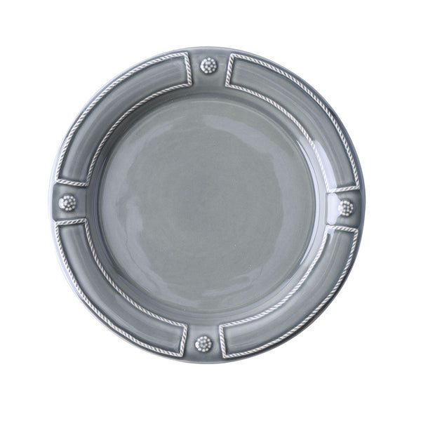Berry & Thread French Panel Stone Grey Dessert Salad Plate