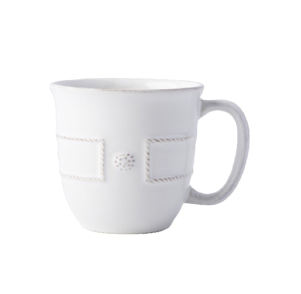 Berry & Thread French Panel Whitewash Coffee and Tea Cup