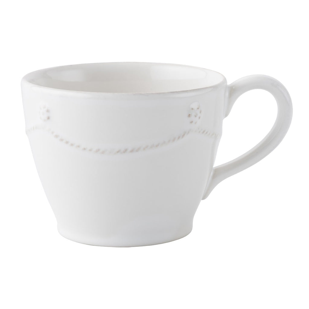 Berry & Thread Whitewash Tea and Coffee Cup
