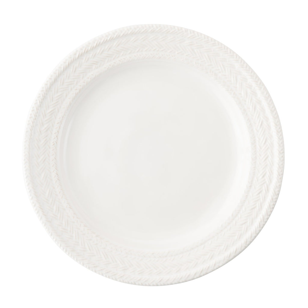 Le Panier Whitwash Dinner Plate