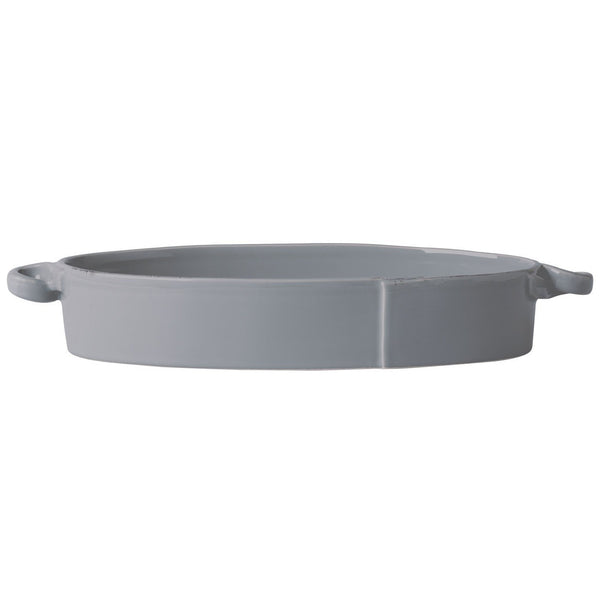Lastra Grey Small Oval baker