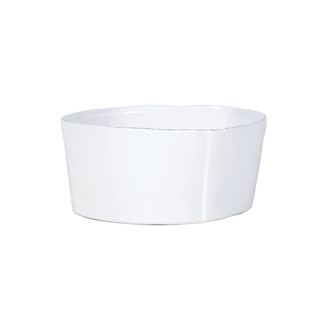 Lastra White Cereal Bowl