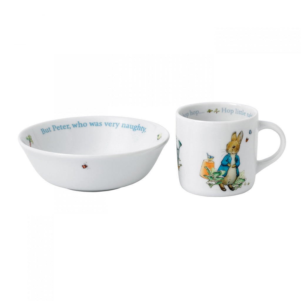 Copy of Wedgwood Blue Peter Rabbit 2-Piece Set