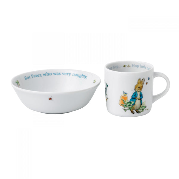 Wedgwood Blue Peter Rabbit 2-Piece Set