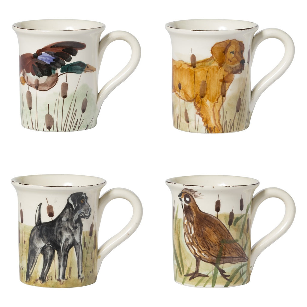 Wildlife Assorted Mugs - Set of 4
