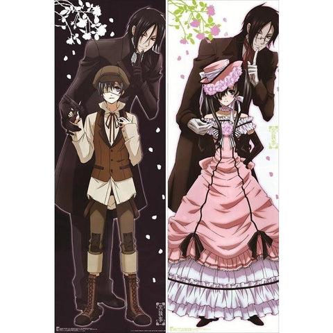 New Black Butler (Kuroshitsuji) Anime Dakimakura Japanese Pillow Cover ContestThree3 - Dakimakura - SenpaiWares